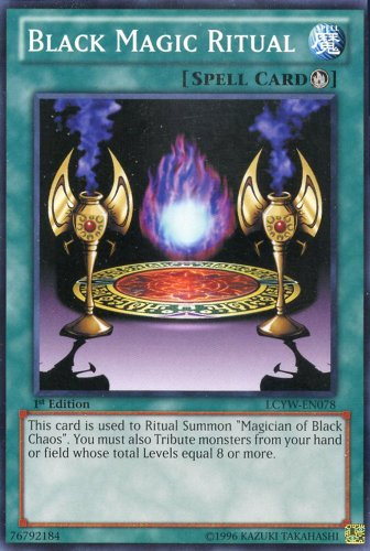 YU-GI-OH! - Black Magic Ritual (LCYW-EN078) - Legendary Collection 3: Yugi's World - 1st Edition - Common