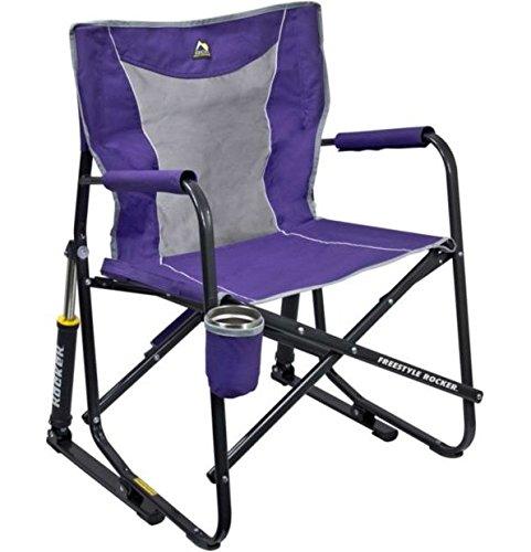 GCI Outdoor Freestyle Rocker Mesh Chair (Purple)