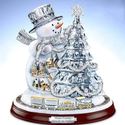 JINSUO 5D Pintura de diamante mosaico de decoración de Navidad Bola DIY Full Diamond bordado punto de cruz Christams regalo para niños (color: 06, tamaño: redondo completo 50 x 50 cm)