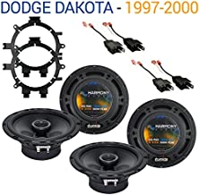Compatible with Dodge Dakota 1997-2000 Factory Speaker Replacement Harmony (2) R65 Package New