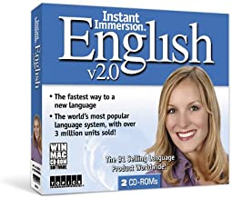 Instant Immersion English 2.0 (2 CD ROM Jewel Case) (PC & Mac)
