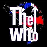 The Who saltó logotipo de cualquier funcionario de tarjetas de felicitación de cumpleaños ocasión