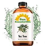 Best Tea Tree Oils - Tea Tree Essential Oil (Huge 4oz Bottle) Bulk Review