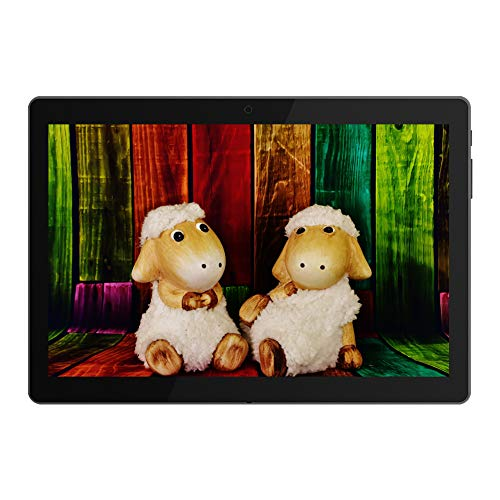 10 Inch Google Android Tablet,PADGENE Android 7.0 Phablet Tablet Quad Core Pad with Dual Camera, 1GB Ram+16GB Rom, Wifi, Bluetooth, 1280x800 HD IPS screen, Google Play