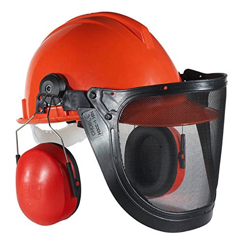 Tector Waldarbeiter-Helm komplett Gesichtsschutz