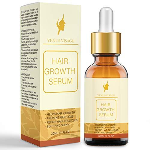 Hair Growth Oil Hair Growth Serum for Thicker Longer Fuller Healthier Hair, Prevent Hair Loss & Thinning, All Natural Vitamin Rich Treatment, Women & Men, All Hair Types