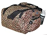 17' Personal Item Under Seat Luggage For Sun Country, Alaska, Delta, Southwest Airlines (Animal Print)