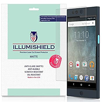 iLLumiShield Matte Screen Protector Compatible with Nextbit Robin  3-Pack  Anti-Glare Shield Anti-Bubble and Anti-Fingerprint PET Film