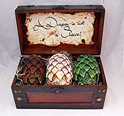 game of thrones handmade gifts ~ dragon eggs