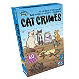 ThinkFun - Cat Crimes, Juego de Lógica, 1+ Jugadores, Edad Recomendada 8+...