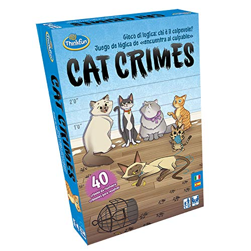 ThinkFun Cat Crimes Game of Reflection and Logic, 76367