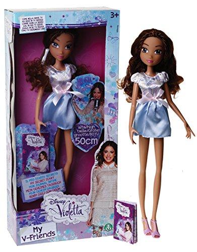 Giochi Preziosi - 4988.0 - Mannequin Doll - i Miei Amici e V Mini Diary - Violetta - 50 Cm