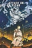 Attack on titan 25 Notebook: manga anime Attaque des Titans Journal Attack on titan 1 to 34...