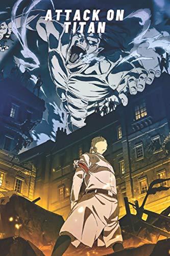 Attack on titan 26 Notebook: Manga anime Attaque des Titans Journal Attack on titan 1 to 34