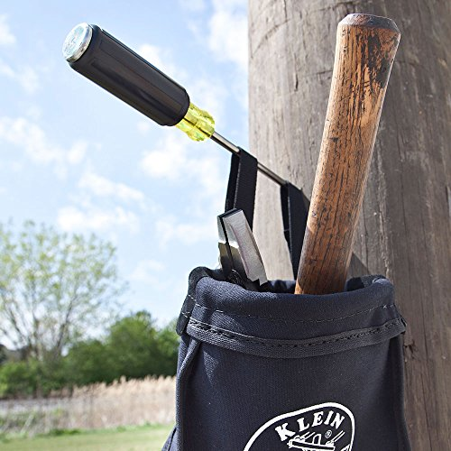 Klein Tools 602-4DD 1/4-Inch Keystone Demolition Driver, 4-Inch Shank