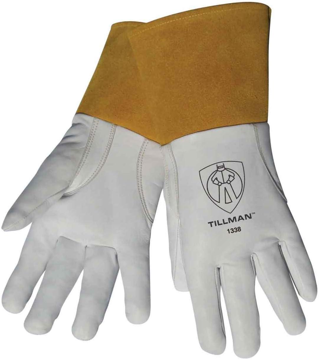 Pack of 2 - Tillman 1338 Top Grain 爆安 TIG 安い 激安 プチプラ 高品質 Gloves Goatskin w Welding