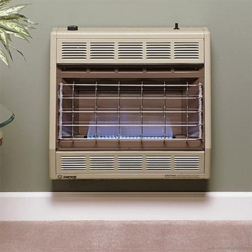 Empire Vent-Free Blue Flame Heater Natural Gas 30000 BTU, Thermostatic Control