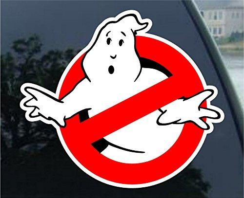 Ghostbusters car Bumper Sticker Decal 4' x 4'