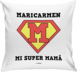 Cojín Personalizado Día de la Madre Mi Super Mamá