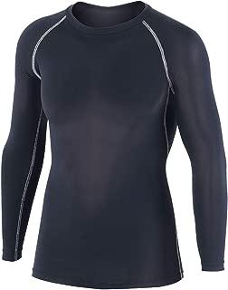 おたふく手袋 ボディータフネス 冷感・消臭 パワーストレッチ 長袖クルーネックシャツ JW-623 ブラック M