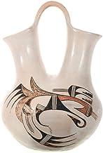 Vintage Hopi Polychrome Wedding Vase by Feather Woman 0013