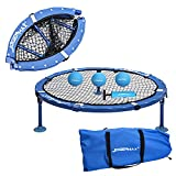 JOGENMAX Outdoor Game Set, Fully Foldable, Includes 3 Balls,Drawstring...