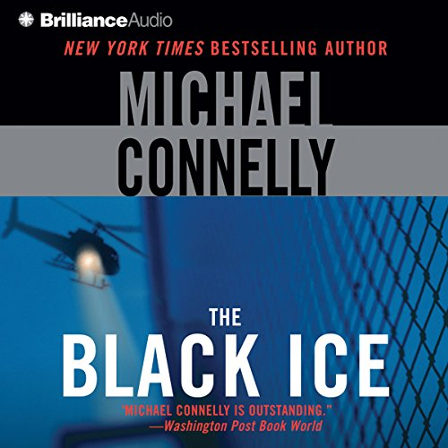 The Black Ice audiobook cover art