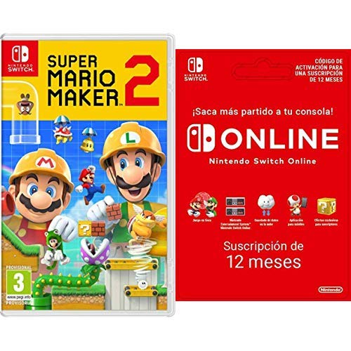 Super Mario Maker 2 [Nintendo Switch] + Switch Online 12 Meses ...
