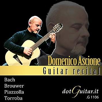 Domenico Ascione: Guitar Recital