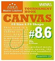 VARIVAS(バリバス) 671107 スーパートラウトエリア マスターリミテッド トーナメントフック キャンバス #8.6