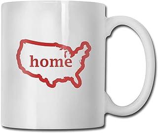 USA Accueil Céramique Tasse à café Idées Tasse Meilleure tasse de cadeau pour la famille et l'anniversaire