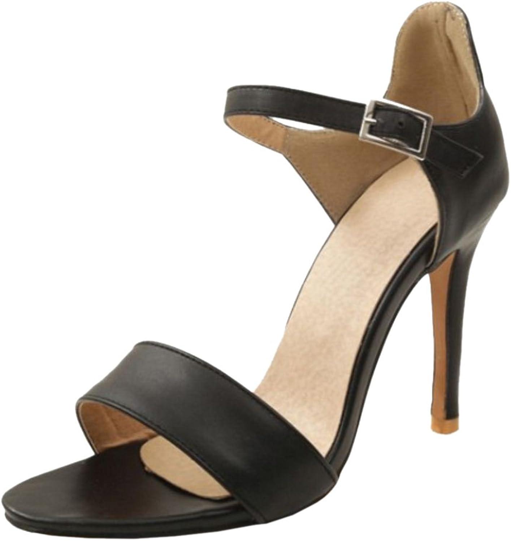 KemeKiss Women Open Toe Sandals shoes Heels