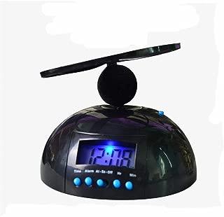 YOMRIC 家の装飾クリエイティブクロックデジタルクレイジー迷惑な飛行ヘリコプター 置き時計