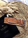 MICHUR Goldeneye, Hundehalsband, Lederhalsband - 7