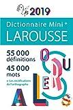 Mini plus dictionnaire de français 2019