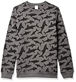 Amazon Essentials Crew Neck Sweatshirt Fashion-Sweatshirts, Gris (Grey Shark), XL