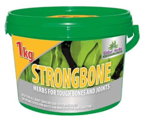 herbes globales - strongbone cheval Bone & SUPPLÉMENT POUR ARTICULATIONS x 1 kg