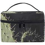 Bolsas de Maquillaje de Viaje con Cremallera Cactus In The Dark Bolsa de cosméticos Bolsas de Aseo Estuche portátil multifunción