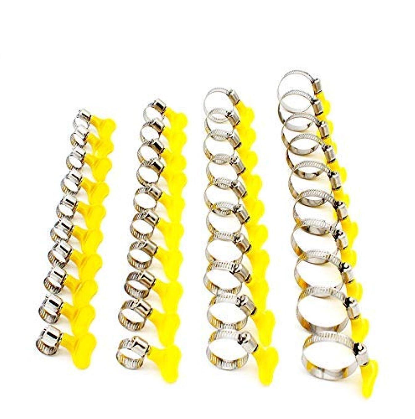 一緒に誇りブロックするTSellk Adjustable Stainless Steel Hose Clamp, Pipe Clamp, Self-Bringing Tools, 1/3