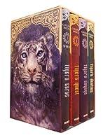 Tiger's Curse Collector's Boxed Set (Tiger Saga, #1-4) 1454903597 Book Cover