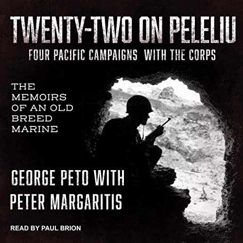 Twenty-Two on Peleliu audiobook cover art