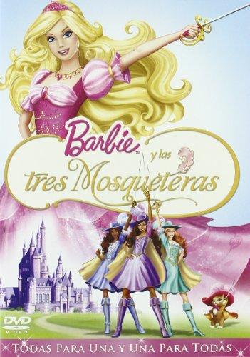 Barbie y las 3 mosqueteras [DVD]