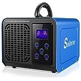Generatore di Ozono 12000mg / H Purificatore d'aria con LCD, la Modalità Loop, Regolabili...