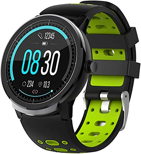 wyingj Reloj inteligente Bluetooth 4.0 y monitoreo IP67 impermeable multi-deportes pulsera inteligente-C