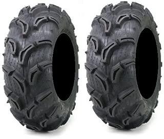 Pair of Maxxis Zilla ATV Mud Tires 25x11-10 (2)