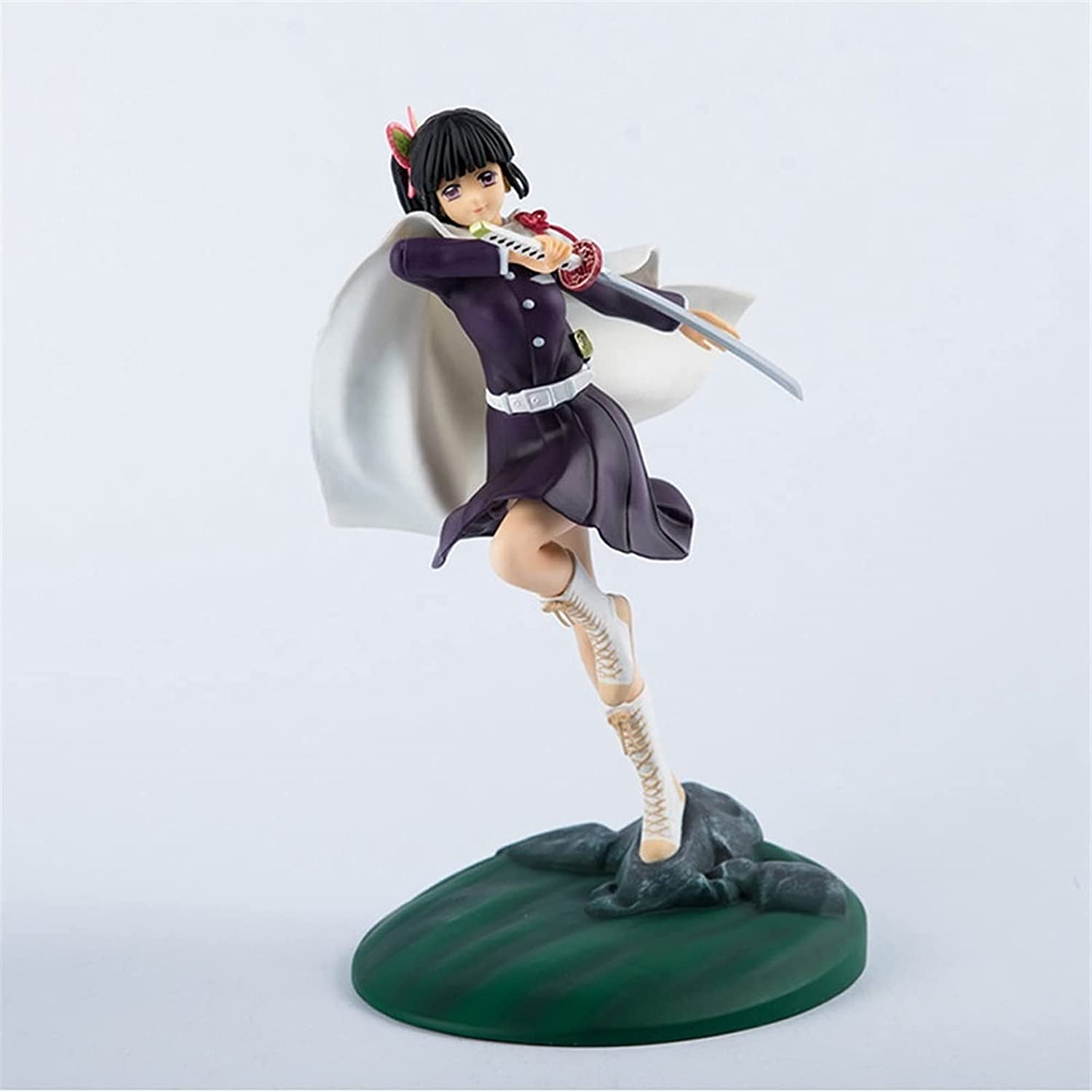 CUIGANGZ Demon Directly managed store Max 82% OFF Slayer Figure Fighting Scene Wieldin Pose Jumping