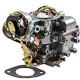 1-Barrel Carburetor Carb for Ford 4.9L 300 Cu/4.1L 250 Cu/3.3L 200 Cu Engine,for Ford Broncos/Fairmont/Granada for F100 for F150 for F250&for F350,for Ford Econoline E Series 1967-1985 Automatic Choke