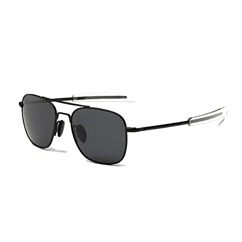 a796d24a6c EnzoDate US Air Force Aviator Sunglasses Piloto militar polarizado Bayoneta  Temples Wire Spatula Retro clásico para