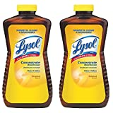 LYSOL Concentrate Disinfectant, Original Scent 12 oz (Pack of 2)