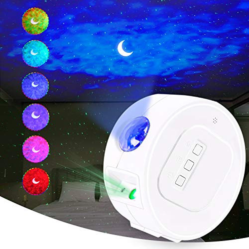 Star Projector, Galaxy Projector, Starry Night Light Projector, Skylight Projector with LED Nebula Cloud, Ocean Wave Projector for Bedroom, Home Theatre, Game Room, Party Decoration
